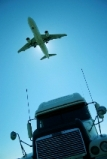 Freight Plane and Truck
